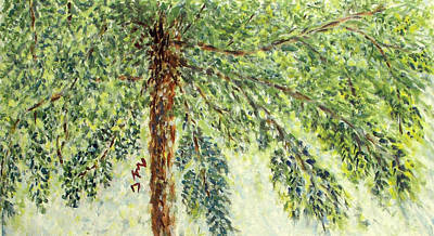 Painting - Portrait Of A Tree by Naini Kumar