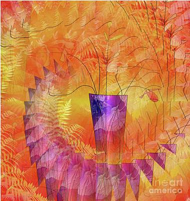 Digital Art - Portrait Of A Vase by Iris Gelbart