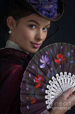 Photograph - portrait of a Victorian woman  by Lee Avison