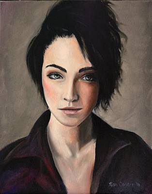 Painting - Portrait Of A Woman #2 by Alan Conder