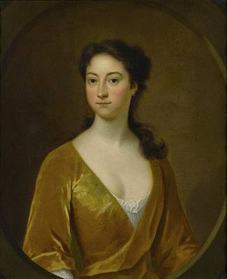 Portrait Of A Woman Art Print by Charles Bridges