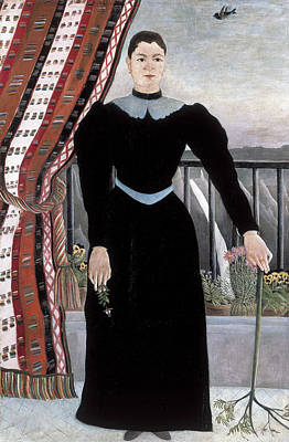 Painting - Portrait Of A Woman by Henri Rousseau
