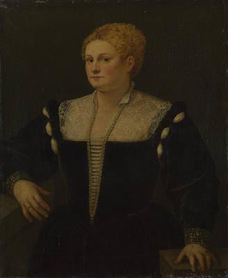 Digital Art - Portrait Of A Woman Perhaps Pellegrina Morosini Capello by Follower of Titian