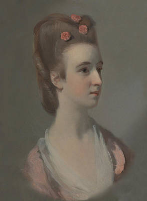 Painting - Portrait Of A Woman, Possibly Miss Nettlethorpe by Treasury Classics Art