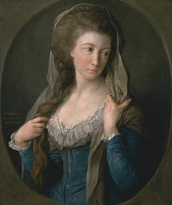 Margaret Painting - Portrait Of A Woman, Traditionally Identified As Margaret Stuart, Lady Hippisley by Pompeo Batoni