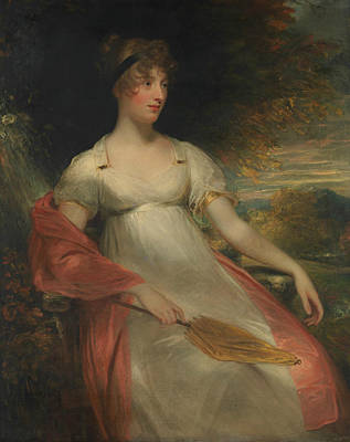 Painting - Portrait Of A Woman by William Beechey