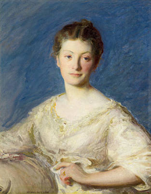 Joeseph Painting - Portrait Of A Young Lady by Joseph Rodefer DeCamp