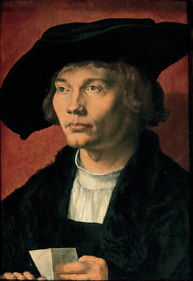 Painting - Portrait Of A Young Man by Albrecht Durer