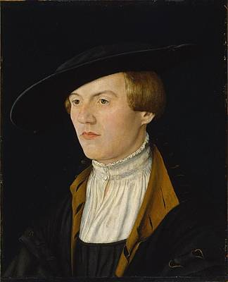 Young Man Painting - Portrait Of A Young Man Ca. 1525 - 1530 2 by Celestial Images