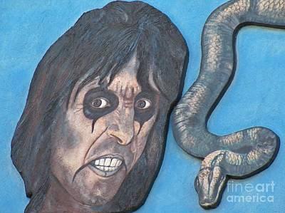 Portrait Of Alice Cooper Original