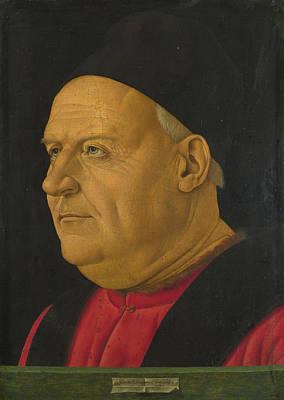 Digital Art - Portrait Of An Elderly Man by Francesco Bonsignori
