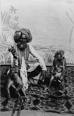 Portrait Of An Indian Fakir Art Print by Everett