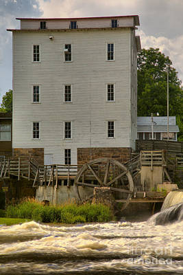 Photograph - Portrait Of An Indiana Grist Mill by Adam Jewell