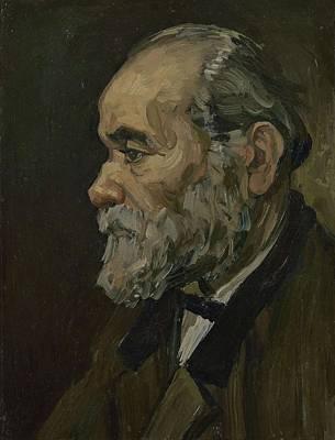 Painting - Portrait Of An Old Man Antwerp December 1885 Vincent Van Gogh 1853  1890 by Artistic Panda