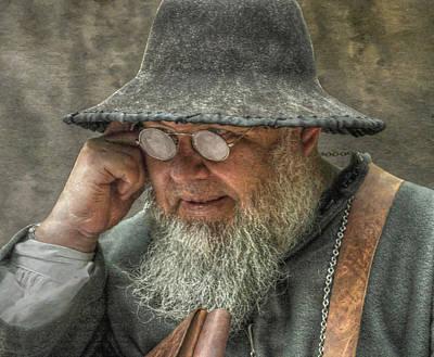 Old Man Digital Art - Portrait Of An Old Man by Randy Steele