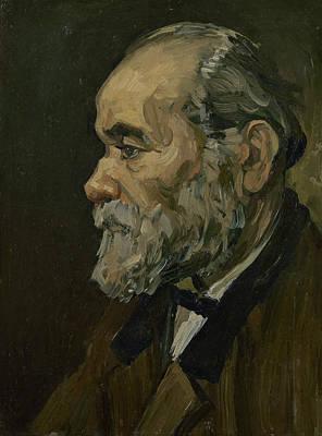 Portrait Of An Old Man Art Print