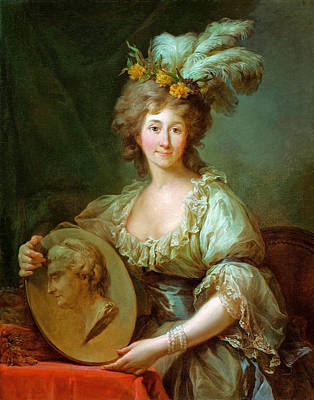 Painting - Portrait Of Anna Charlotta Dorothea Biron Princess Of Courland by Marcello Bacciarelli