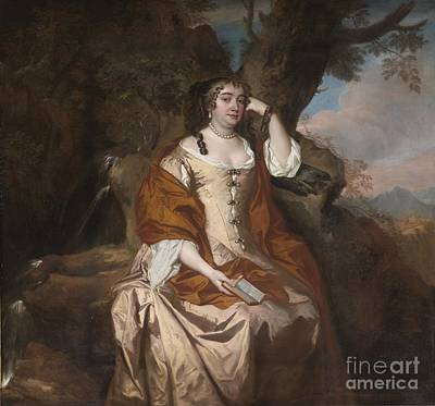 Duchess Painting - Portrait Of Anne Hyde Duchess Of York by Celestial Images