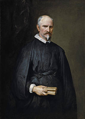 Anthony Van Dyck Painting - Portrait Of Antonio De Tassis by Anthony van Dyck