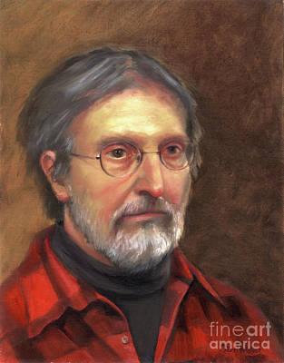 Portrait Of Barry Art Print by Terri  Meyer