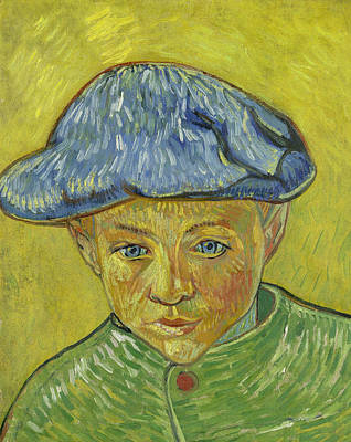 Boy Portrait Painting - Portrait Of Camille Roulin by Vincent van Gogh