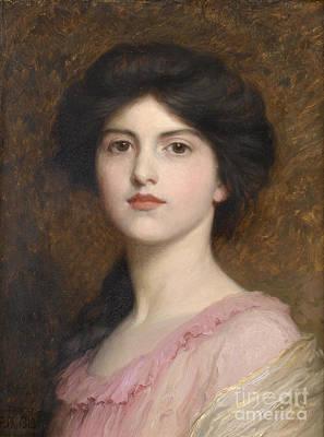 Sutton Painting - Portrait Of Camille Sutton Palmer by Celestial Images