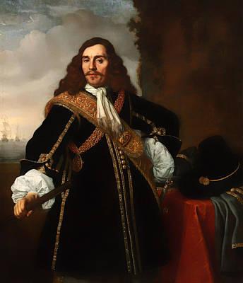 Portrait Of Captain Gideon De Wildt Art Print by Mountain Dreams
