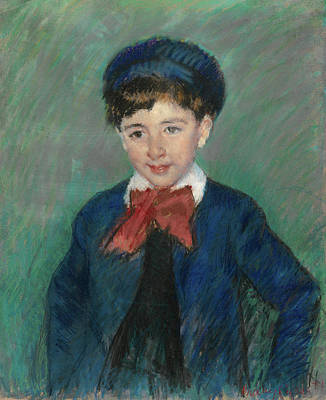 Mary Painting - Portrait Of Charles Dikran Kelekian, Age Eight by Mary Cassatt