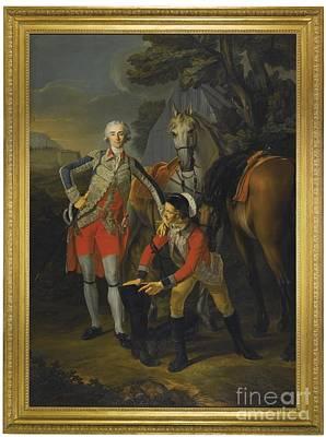 Portrait Of Charles Grant Art Print