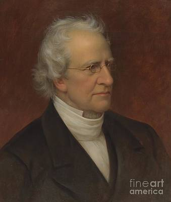 Portrait Of Charles Hodge Art Print by Rembrandt Peale