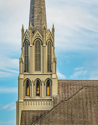 Photograph - Portrait Of Church Steeple by Greg Nyquist