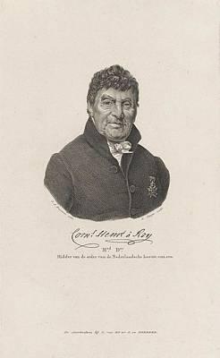 Roy Painting - Portrait Of Cornelius Henricus To Roy by Jan Adam