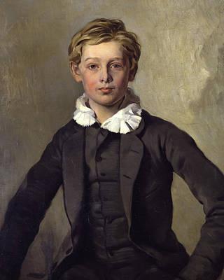 Painting - Portrait Of Count Haubold Von Einsiedel by Ferdinand von Rayski
