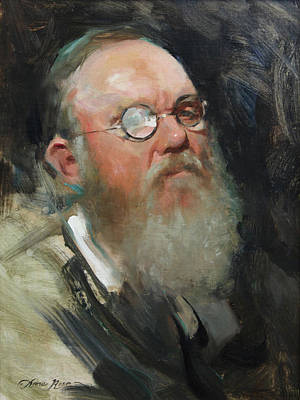 19th-century Painting - Portrait Of Dave by Anna Rose Bain