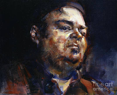Painting - Portrait Of David Thomas by Ritchard Rodriguez