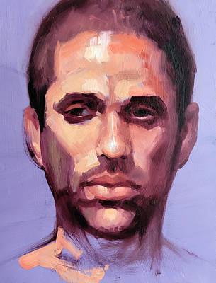 Portrait Of Dean Art Print