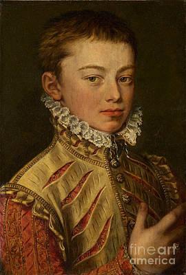 Portrait Painting - Portrait Of Don Juan Of Austria  by MotionAge Designs