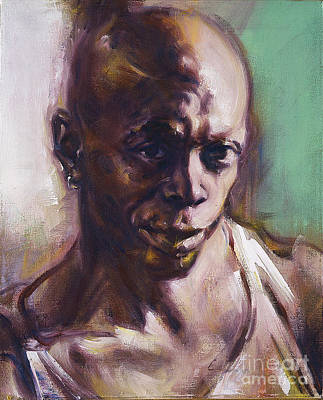 Painting - Portrait Of Don Pullen by Ritchard Rodriguez
