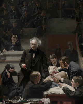 Painting - Portrait Of Dr. Samuel D. Gross  by Thomas Eakins