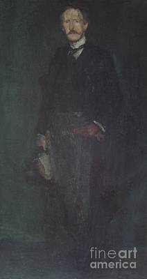 Whistler Painting - Portrait Of Edward Guthrie Kennedy by MotionAge Designs