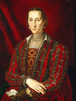 Painting - Portrait Of Eleanora Di Toledo by Bronzino