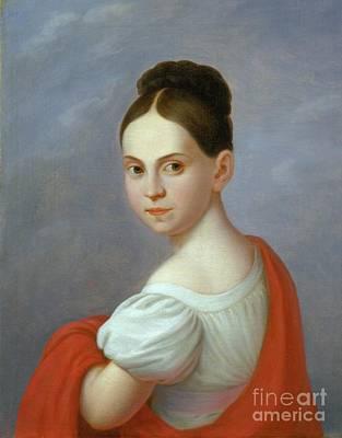 Painting - Portrait Of Elizabeth Reiss Schwarzschild by Celestial Images
