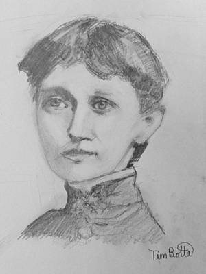 Portrait Of Emma Curtis Hopkins Art Print