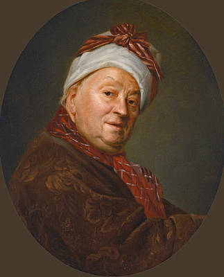 Painting - Portrait Of Etienne Jeaurat by Etienne Aubry