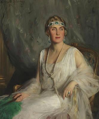 Painting - Portrait Of Eugenie Of Battenberg by Philip de Laszio