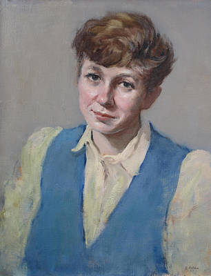 Painting - Portrait Of Ewa Z. by Robert Holden