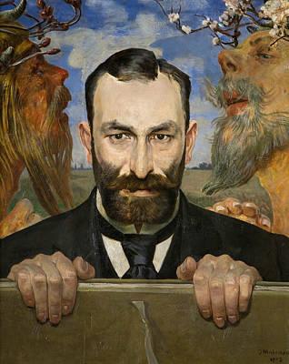 Painting - Portrait Of Feliks Jasienski by Jacek Malczewski
