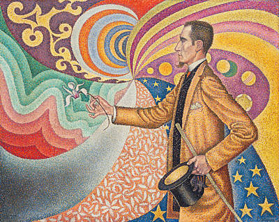 Painting - Portrait Of Felix Feneon by Paul Signac