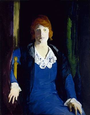 Pineapple - Portrait of Florence Pierce by George Bellows, 1914 by George Bellows