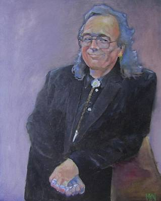 Painting - Portrait Of Frank by Kevin McKrell